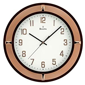 Bulova Decorative Wall Clock Kitchen Wall Clock