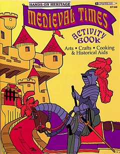 Activity Book Medieval Times Gr 2-6 - 1