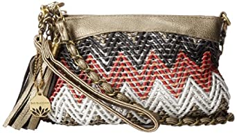 BIG BUDDHA Luna Cross Body Bag,Red,One Size