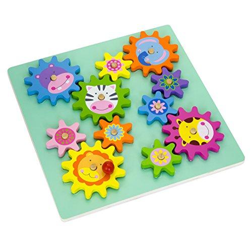 vortigern-v51031-puzzle-en-bois-rotatif-a-engrenage-animale-theme