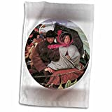 BLN Sailing Ships and Seascapes Fine Art Collection - The Last of England by Ford Madox Brown - 11x17 Towel (twl_126756_1)