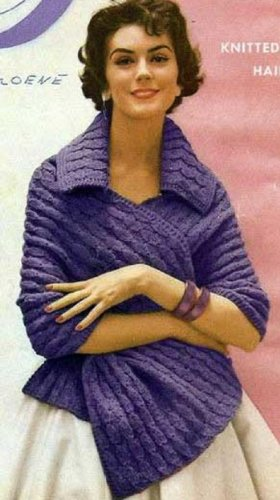 ADAGIO SHAWL - A downloadable vintage knitting pattern for your KINDLE! Text-to-Speech enabled. Available for Download to Kindle DX, Kindle for PC, Mac, ... ebook knit knitted stole yarn craft