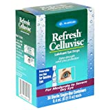 Allergan Refresh Celluvisc Lubricant Eye Drops for Moderate to Severe Dry Eye, .01-Ounce Containers, 30-Count Box
