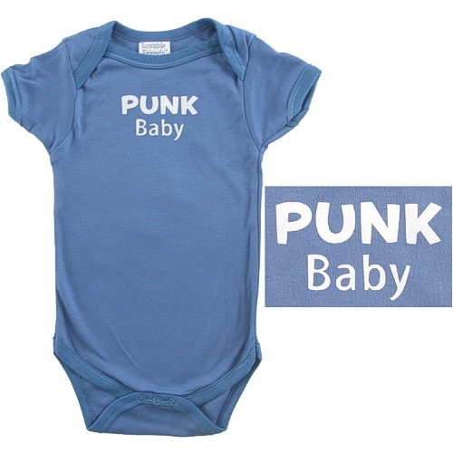 Baby-Says Bodysuit - Punk Baby