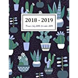 Planner July 2018-December 2019: Two Year - Daily Weekly Monthly Calendar Planner | 18 Months July 2018 to December 2019 For Academic Agenda Schedule ... (Academic Planner 2018-2019) (Volume 10)