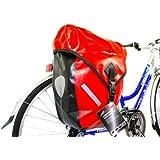 Avenir ACB940 Waterproof Rear Pannier - Red