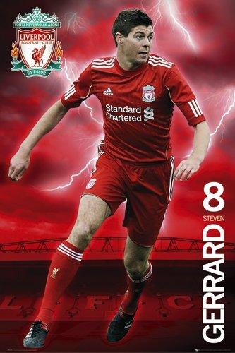 Liverpool FC Steven Gerrard Maxi Poster 61×91.5cm