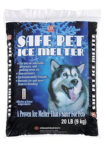 Milazzo Industries 02020 Qik Joe Safe Pet Ice Melter, 20-Pound (Safe Driveway Salt compare prices)