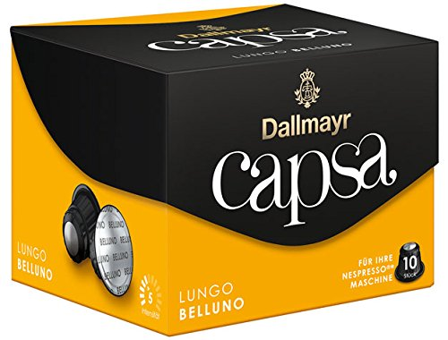 Buy Dallmayr Capsa Lungo Belluno, 10 coffee capsules - 10portions - 4x by Dallmayr