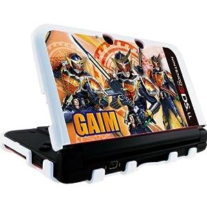 【クリックで詳細表示】NINTENDO 3DS LL 専用 仮面ライダー鎧武 カスタムハードカバー オレンジ: ゲーム