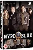 NYPD Blue Complete Season 10 [DVD]