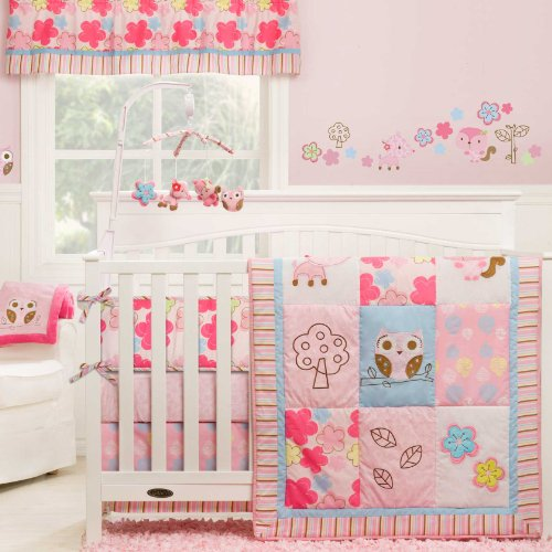 Woodland Animals Baby Bedding 9321 front
