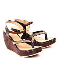 She Walk Women's Resin Wedges - B018XPBJP8
