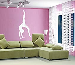 Dailinming PVC Wall Stickers Large ballet dance girl gymnastics room bedroom home decorWallpaper1168