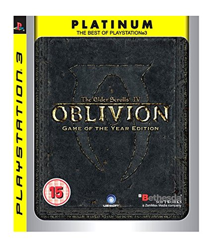 The Elder Scrolls IV: Oblivion - Game of the Year - Platinum (PS3) [Edizione: Regno Unito]