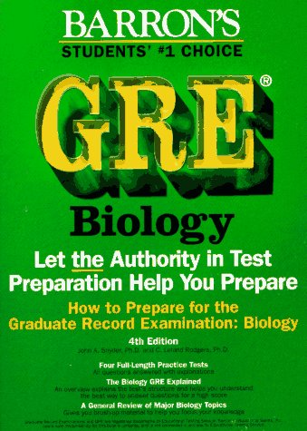 How To Prepare For The Gre Biology (Barron'S)