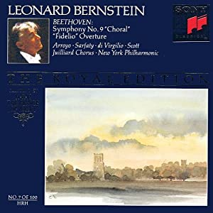 Beethoven: Symphony No. 9 / Fidelio, Overture (Bernstein Royal Edition, No. 7)