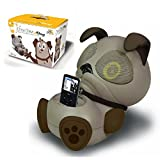 Electric Friends Docking Station Speaker For Apple iPod iPhone 4 4S 5 5S 5C (Chew Chew Dog)