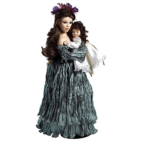 Paradise Galleries 19 inch Collectible Porcelain Doll - Mother Earth, A Vision of Mother Nature