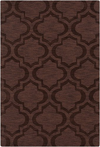 Artistic Weavers Solid/Striped Rectangle Area Rug 2'x3' Brown Central Park Kate Collection (Central Park Rug compare prices)