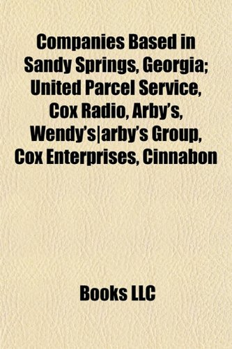 companies-based-in-sandy-springs-georgia-united-parcel-service-cox-radio-arbys-wendys-arbys-group-co