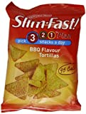 Slim Fast Snack Bag BBQ Tortillas 22g - Pack of 12