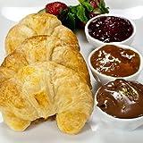 100% Butter French Croissants - 1.5 oz, Frozen, Unbaked - 1 dozen, 12 count