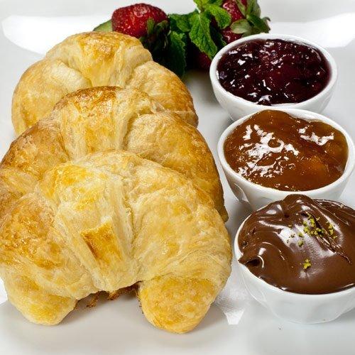 100% Butter French Croissants - 1.5 oz, Frozen, Unbaked - 5 dozen, 60 count