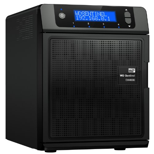 WD Sentinel DX4000 4TB Small Office Storage Server with Complete Data Protection