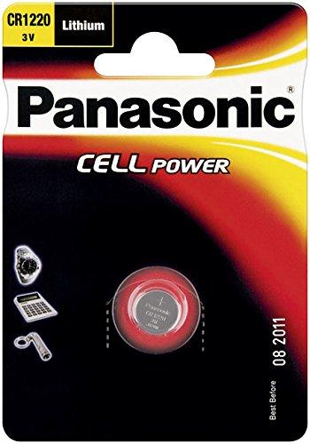 Bouton au lithium CR1220 (cr1220l/1Bp) , CR 1220 P 1 de bl Panasonic