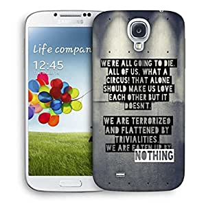 Snoogg Eaten Up By Nothing Designer Protective Back Case Cover For Samsung Galaxy S4