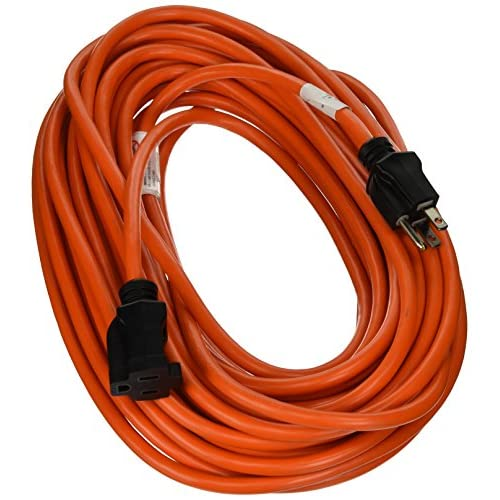 Prime Wire & Cable EC501630 50-Foot 16/3 SJTW Medium Duty Extension Cord, Orange