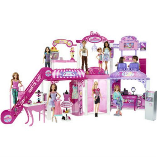 barbie-malibu-shopping-mall-playset