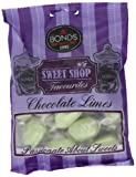 Sweetshop Chocolate Limes 150 g (12 pieces)