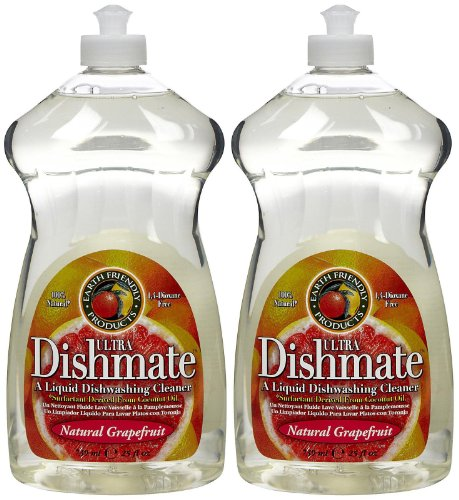 Earth Friendly Products Dishwashing Liquid - 25 oz - Grapefruit - 2 pk (Dishwashing Liquid Grapefruit compare prices)