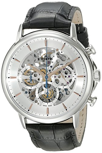 Edox-Mens-95005-3-AIR-Les-Bemonts-Analog-Display-Swiss-Automatic-Black-Watch
