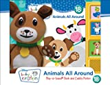 img - for Baby Einstein: Animals All Around: Play-a-Sound Book and Cuddly Pavlov book / textbook / text book