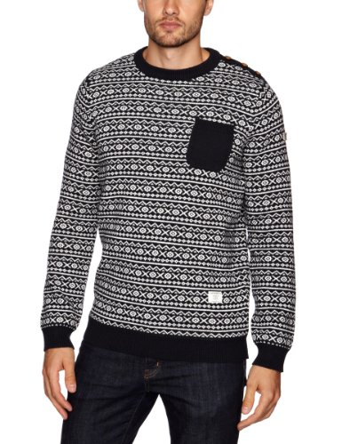 Weekend Offender One Punch Men's Jumper N/Cre X-Large