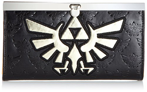 nintendo-legend-of-zelda-girls-wallet-with-gold-bird-logo-black