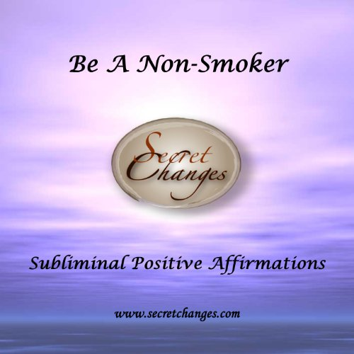 Subliminal Affirmations to Stop Smoking / Quit Smoking CD