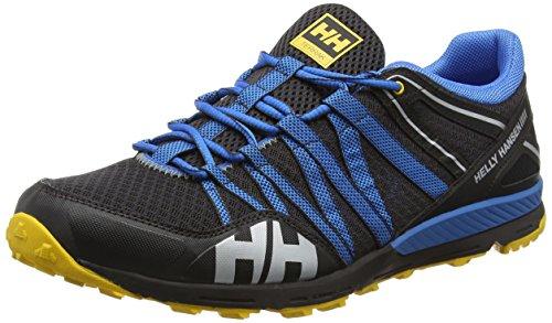 Helly Hansen Terrak Scarpe da corsa su strada allenamento, Uomo, Nero (Jet Black/Racer Blue), 42
