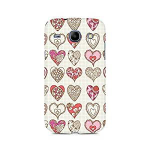 Ebby So Many Hearts Premium Printed Case For Samsung Grand Duos 9082