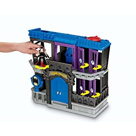 (超低)Fisher-Price蝙蝠侠高谭市监 狱 Imaginext Batman Gotham Jail $19.49
