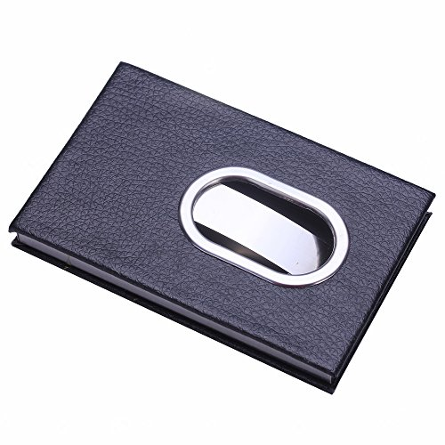Slide out business card case order unique slide out business card hisenook black slide out stainless steel business pu name credit id card holder case colourmoves