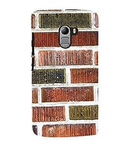 Fuson Premium Back Case Cover Rock pattern With Black Background Degined For Lenovo K4 Note