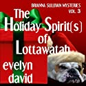 The Holiday Spirit(s) of Lottawatah: Brianna Sullivan Mysteries, Book 3 (       UNABRIDGED) by Evelyn David Narrated by Wendy Tremont King