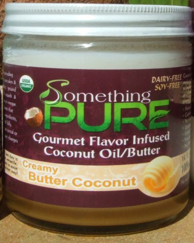 Something Pure (Creamy Butter Coconut Oil, 14Oz)