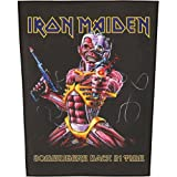 IRON MAIDEN???? SOMEWHERE BACK IN TIME? Backpatch By IRON MAIDEN (0001-01-01)