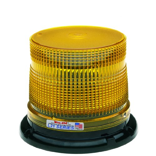 Whelen Engineering L21 Series Super-Led Beacon - Magnetic Mount, Amber