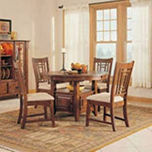 amazon com everyday dining mission dining room set by